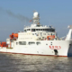 Rubber Design minimize underwater radiated noise from research vessel